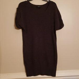 Great Short Sweater Dress Or Top Over Leggings